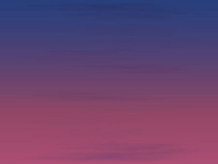 Pink sky with clouds at dawn or sunset. Horizontal image. Natural background for printing on clothing or advertising banners