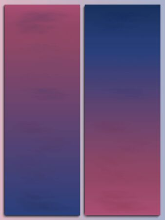 View of the pink sky with clouds. Two options for the color of the sky, at dawn and at sunset. Wallpaper for your desktop or smartphone. Bookmarks for books.