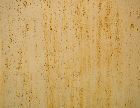rusty metallic or concrete surface with ginger smudges for backdrop, background wallpaper texture Imagens - 121240864