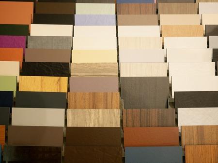 lot of Decoration Materials samples at diy hardware store warehouse Imagens - 121240948