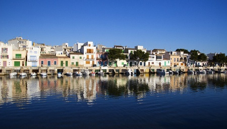 Panorama of Porto Colom.