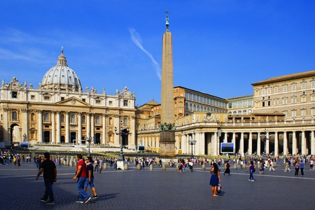 st  peter's square: St. Peters Square, Vatican.
