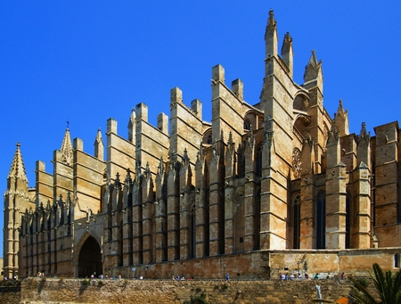 Cathedral of Our Lady of Palma de Mallorca.
