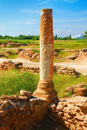 The archaeological site of Hammamet. Imagens - 111845172