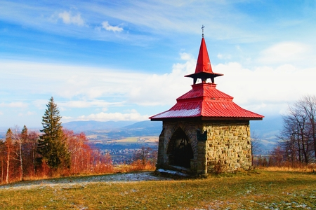Autumn in the Beskydy Mountains. Imagens - 120034558
