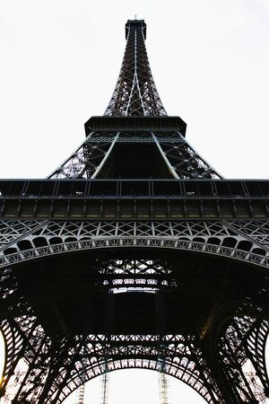 Eiffel Tower in Paris.