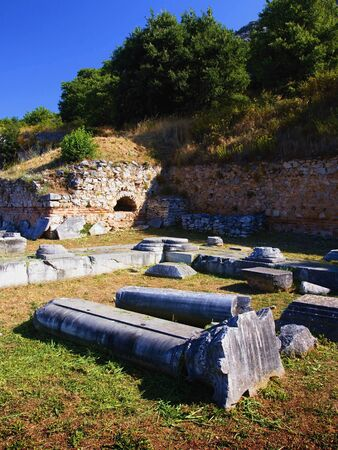 Archaeological site of Filippoi. Imagens - 134266568