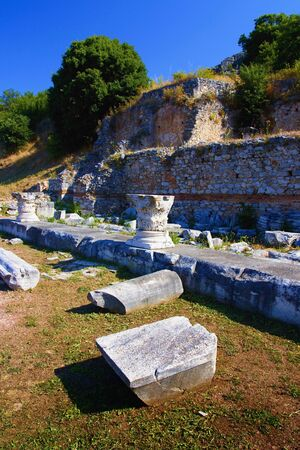 Archaeological site of Filippoi.