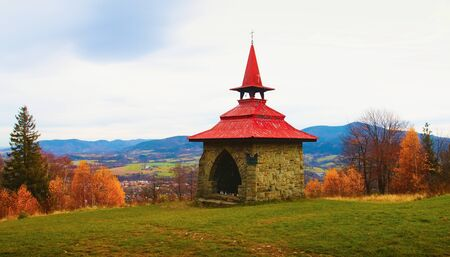 Autumn mood in Beskydy.