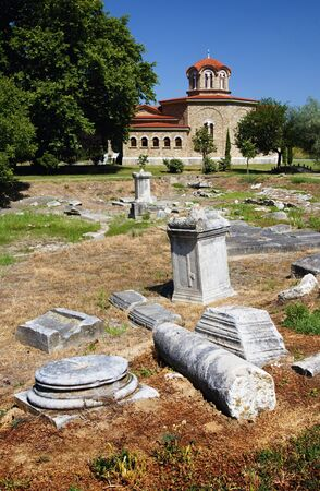 Filippoi.Archeological site Eastern Macedonia.