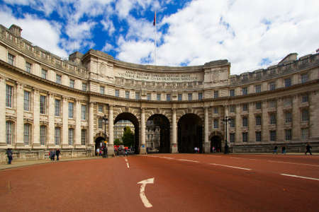 The Admiralty building in the city of London. Editorial
