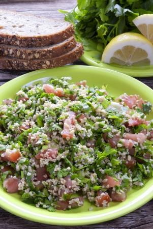 tabbouleh: Traditional tabbouleh Arab salad
