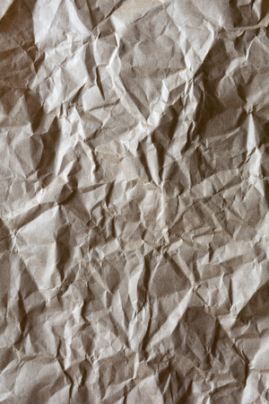 Contrasty crumpled packing paper background