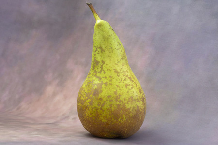 Pear fruit on a gradient background for text Stock Photo