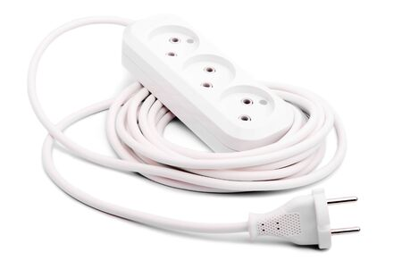 Mobility socket on white background Stock Photo - 8876202