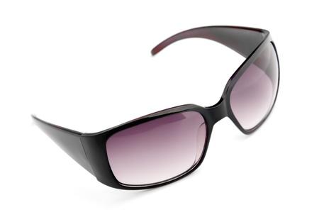 Isolated fashion sunglasses on white background photo