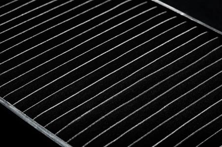 Vacuum cleaner air filter hepa  close up Imagens