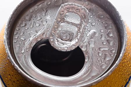 Aluminum can of  beer,soda.