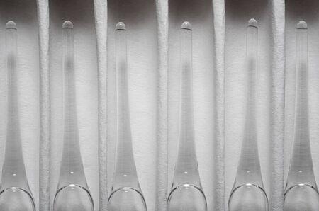 Glass ampules in paper pack Zdjęcie Seryjne