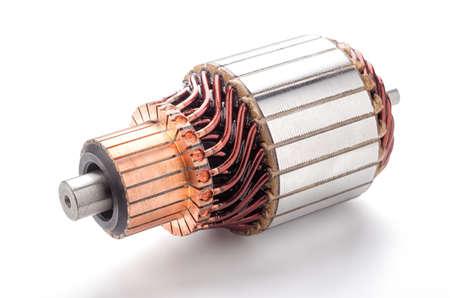 Coil starter motor.Car maintenance service