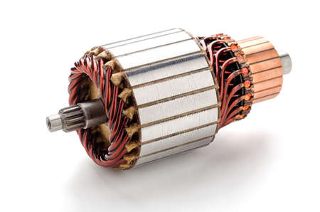Coil starter motor.Car maintenance service Banque d'images