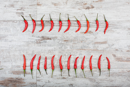 red peppers: Red Peppers Stock Photo