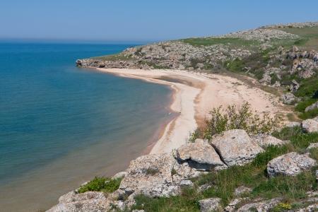 nice landscape with sea coast Stock Photo - 13751171
