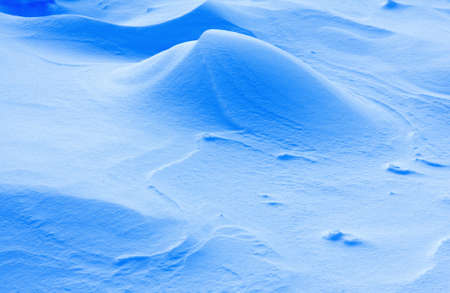 Snow - abstract natural background photo