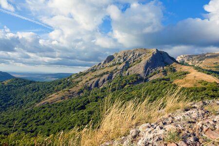 scene in crimean mountains Stock Photo - 13765491