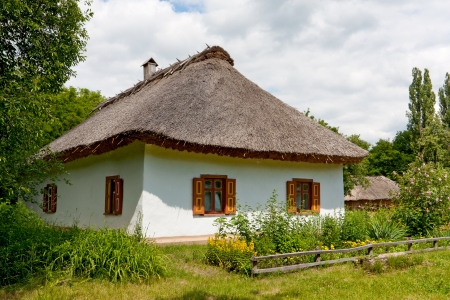 old rural house, open-air museum, Pereyaslav-Khmelnytsky, Ukraine