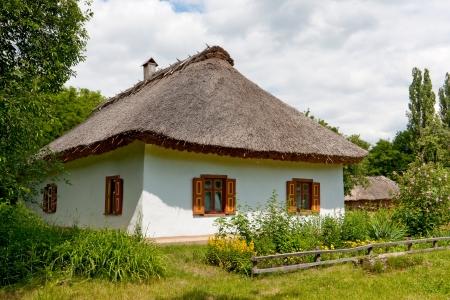 old rural house, open-air museum, Pereyaslav-Khmelnytsky, Ukraine