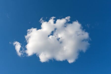 nice cloud in blue sky Stock Photo