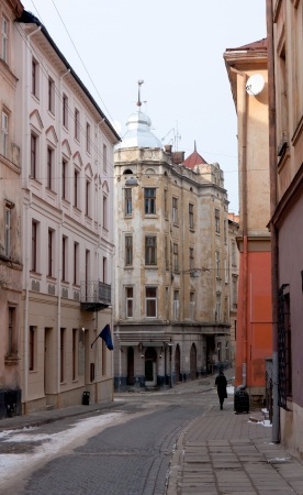 street of old city, Ukraine, Lviv