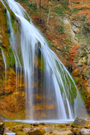 Waterfall  Dzur-Dzur in Crimea, Ukraine photo