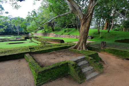 sigiriya: Old ruins of sigiriya Castle in Sri Lnaka