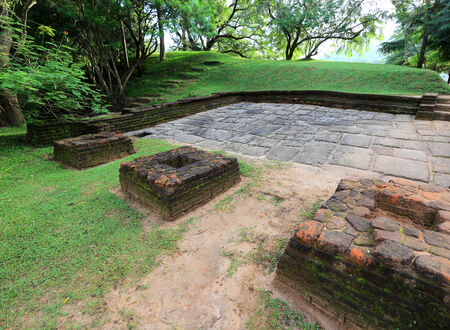 ruins of Sigiriya Castle, Sri Lanka photo