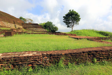 ruins of old Sigiriya castle, Sri Lanka photo