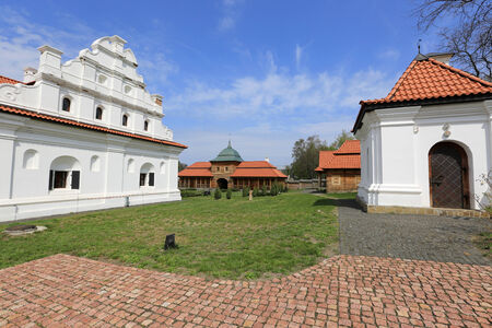 National Historic and Architectural Complex Residence Bohdan Khmelnytsky.Ukraine, Chyhyryn town photo