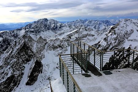 Viewpoint in hight Tatra Mountains, Slovakia