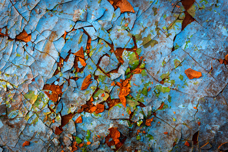Old paint surface - abstract background