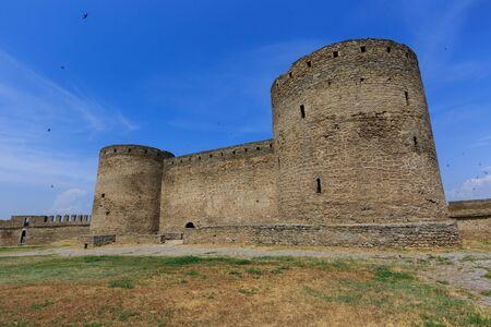 Ruins of castle in Belgorod-Dnestrovsky, Ukraine