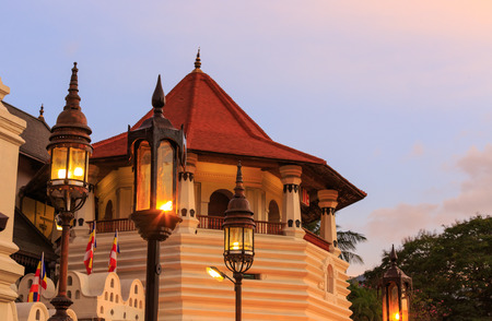 sri: Tower of Temple of Tooth Relic, Kandy, Sri lanka