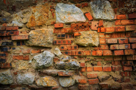 brickwork: Ladrillo de la pared vieja - fondo abstracto