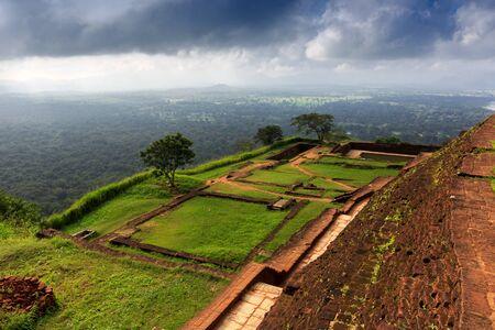 sigiriya: Famous Sigiriya Rock Fortress, Sri Lanka