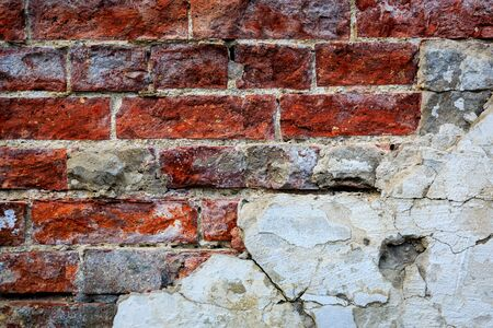 paredes de ladrillos: ladrillo rojo