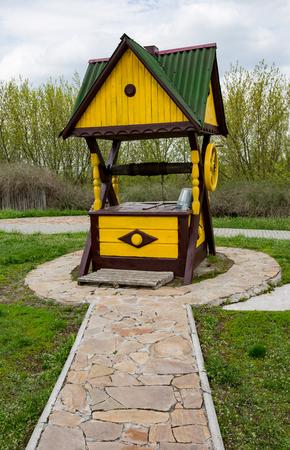 ukrainian: Nice tradition ukrainian wooden well