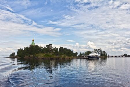 Valaam island, Karelia, Russia, August 2012 photo