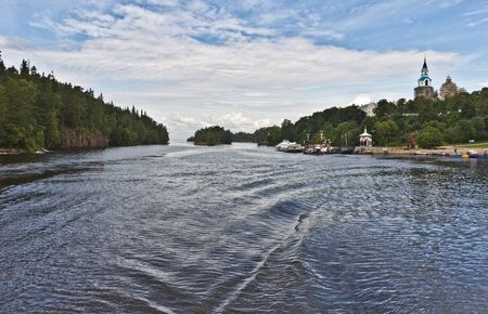 At Valaam island, Karelia, Russia, August 2012 photo