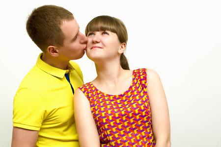 admired: Portrait of a loving heterosexual couples
