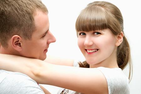 Portrait d'un amour des couples hétérosexuels